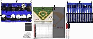 PowerNet 终极教练团队套装 | 磁性阵容板 | 悬挂头盔收纳袋 | 围栏盒适用于 12 个球棒