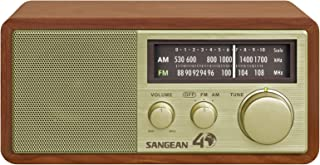 SANGEAN 山进 WR-11SE AM / FM台式收音机40周年纪念版