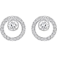 Swarovski Damen-Ohrstecker Metall Swarovski Kristalle 320020…