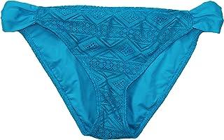 Hula Honey Juniors Mojave 钻石钩针时尚比基尼泳裤