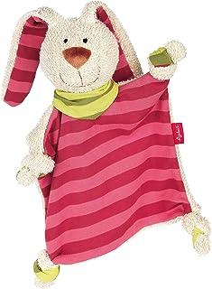 sigikid –安抚巾 婴儿玩具, Hase Rosa/Pink, Hase Rosa