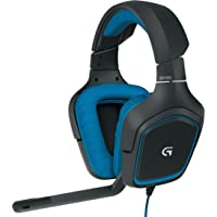 Logitech G430 杜比 7.1 环绕声技术游戏耳机,带麦克风电脑耳机