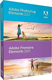 Adobe Photoshop Elements 2021 & Adobe Premiere Elements 2021|标准|1 设备|Windows/Mac|光盘
