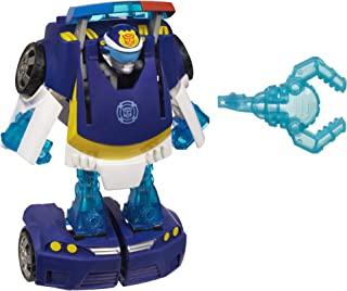 Playskool Heroes 变形金刚 救援机器人 激励追逐警察活动人偶玩具 适合3-7岁年龄段儿童