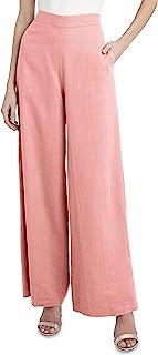 BCBGMAXAZRIA 女式全长阔腿裤
