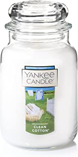 Yankee Candle Clean Cotton Large Jar 22oz Candle 均码