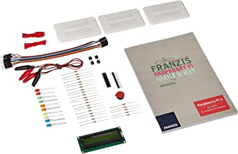 Franzis Raspberry Pi 制作器套装:20个神奇项目,构建游戏垫 用于媒体中心的 LC-显示屏 (Franzis 实验)