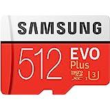 【Amazon.co.jp 限定】Samsung microSDXCカード 512GB EVO Plus Class10…