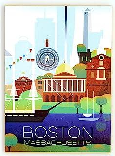 马萨诸塞州波士顿现代艺术磁贴