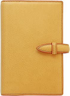 Brelio Minerva 活页笔记本 圣经大小 19 毫米带扣 自然原色