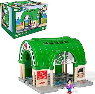 BRIO 世界中央火车站适合 3 岁及以上儿童,兼容所有 BRIO 火车套装