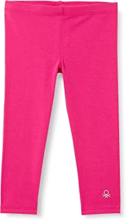 United Colors of Benetton 女婴打底裤, Fucsia 3l5, 2 Years