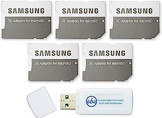 三星Micro to SD 存储卡适配器(散装 5 件装)随附 (1) Everything But Stromboli Micro & SD 读卡器
