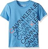 Calvin Klein 男童 圆领T恤