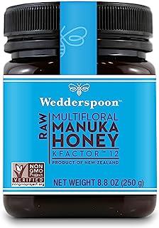 Wedderspoon 高级麦卢卡生蜂蜜 KFactor 16,未经巴氏杀菌,纯正新西兰蜂蜜,多用途