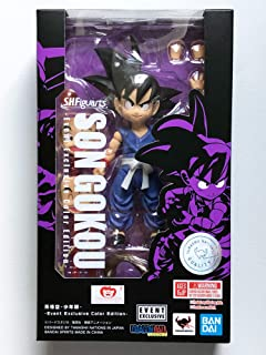 Tamashii Nations SDCC 2019 Exclusive S.H. Figuarts 龙珠 Son Goku 儿童 DBZ