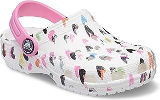 Crocs 卡骆驰儿童经典图案洞洞鞋   一脚蹬水鞋 适合男孩和女孩