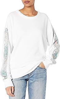 n:PHILANTHROPY 女式天蓝色运动衫
