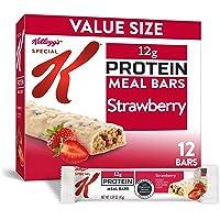 Kellogg's Special K 草莓蛋白质餐吧 办公室午餐,代餐(12支)