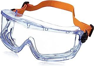 Honeywell V-Maxx 全景眼镜带Fog-Ban 防雾涂层和弹性头带 1006195 清晰