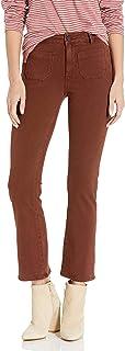 PAIGE 女式 Claudine 及踝喇叭牛仔裤