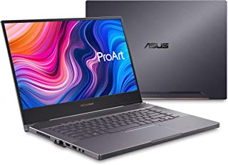 ASUS 华硕 ProArt StudioBook Pro 15 移动工作站笔记本电脑,15.6英寸(约39.62厘米)UHD NanoEdge边框,英特尔酷睿i7-9750H,48GB DDR4、2TB PCIe SSD,Nvidia Qua...