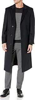 Adam Baker 男士单排扣奢华羊毛全长外套 - 有多种颜色可选