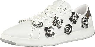Cole HAAN 女式 grandpro 网球皮革蕾丝 OX 时尚运动鞋