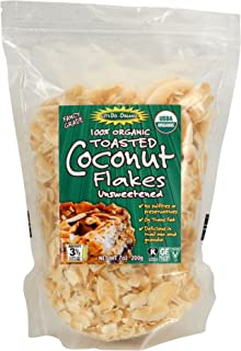 Let's Do...Organic Unsweetened Organic Coconut Flakes, Toasted, 25 Pounds
