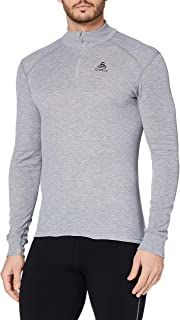 Odlo 奥递乐 男士 OriginalWarm半拉链长袖T恤 152002-15000