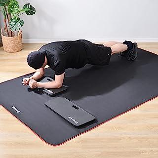 steelway 3-1 练习垫跪垫套装,超大和厚实,多功能,适用于工作园艺瑜伽锻炼花园护膝