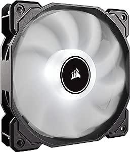 Corsair Af120 LED 低噪音冷却风扇单件装 - 白色冷却 CO-9050079-WW