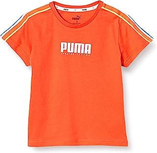 [Puma 彪马] ALPHA 条纹 T恤 女孩 589103