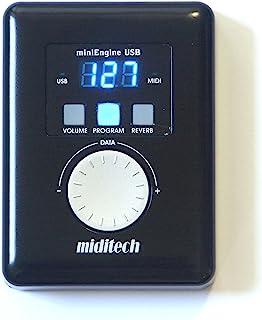 MIDITEC GM音源模块・迷你钢琴盒・附带日语使用说明书・保修卡Pianoboxmini