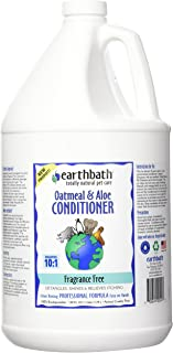 Earthbath 燕麦和芦荟护发素不含香料 3.8L