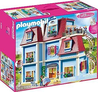 Playmobil 摩比世界 70205 大型玩具屋,带门铃