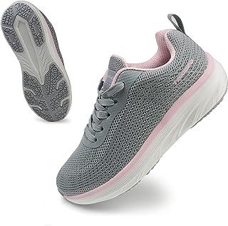wanhee 女式运动跑步鞋时尚休闲运动步行网球运动鞋