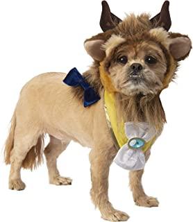 Rubie's 宠物服装配饰套装 野兽 中号/大号