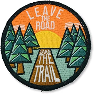 O'Houlihans - Leave The Road Take The Trail Patch - 徒步露营旅行冒险补丁 - 熨烫补丁
