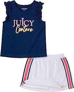 Juicy Couture 橘滋 女童滑板车2件套
