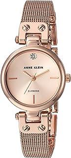 Anne Klein 女士石英金属不锈钢腕表