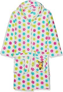 Playshoes DIE MAUS 女童抓绒-Bademantel DIE MAUS 布卢门浴袍,多色(白色/粉色 586),5 岁