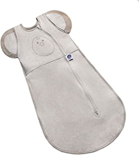 Nested Bean Zen One – 温和加重襁褓   婴儿:0-3 个月   无手臂/无/外襁褓   有助于减少Moro(惊吓)反射   中性款   TOG 1.0   可机洗