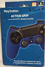 Sony 索尼 PlayStation 蓝色硅胶动作手柄 – 适合 Dualshock 4 无线控制器