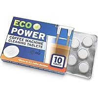 Espresso Machine BIO 清洁片,适用于 Breville 和所有其他品牌的咖啡清洁片 2 克浓缩咖啡清…
