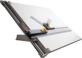 Aristo 素描桌(带平行绘图轨,适用于 DIN A2,600 x 700 毫米)灰色