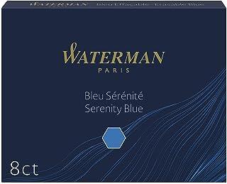 Waterman 威迪文墨盒 std23 セレニティブルー