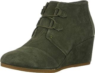 TOMS 女式 Kala 牛津鞋 橄榄色(Dusty) 9.5