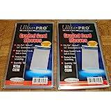 2 个超专业级卡套包,共 200 个(2 个 100 克拉)。 保护等级卡片免受刮擦和灰尘。 适用于 w/Beckett…