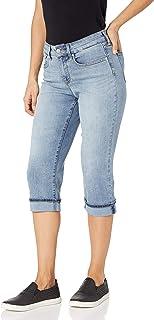 NYDJ 女士 Marilyn Crop Cuff 牛仔裤